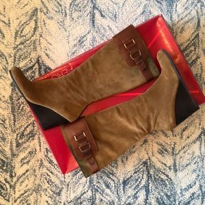 Aerosoles Suede & Leather Knee High Boots